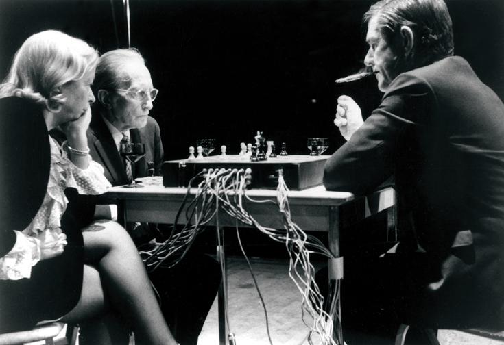 Cage-Duchamp 1968.