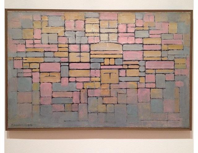 Mondrian- Tableau no. 2 - MOMA