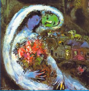 Chagall Wedding crop